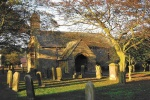 St Mary the Virgin at Longframlington is near The Getaway Luxury log Cabin
