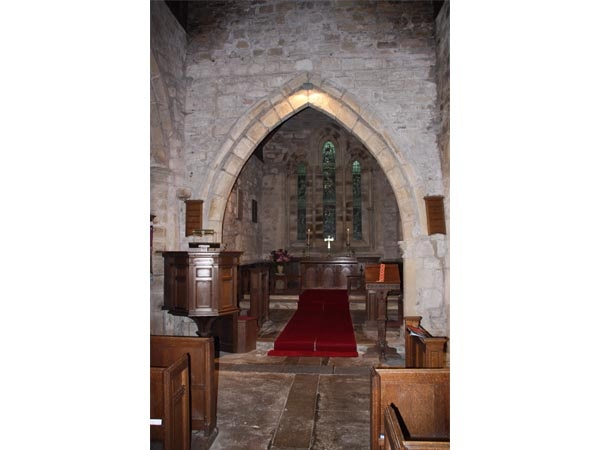 Interior of St Michael's at Ingram
