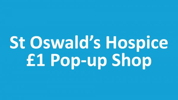 St Oswald's Everything's a £1 Event
