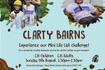 St Oswald's Hospice 'Clarty Bairns' event