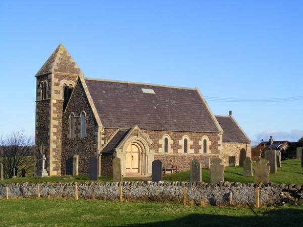 St Pauls Church in Cornhill-on-Tweed