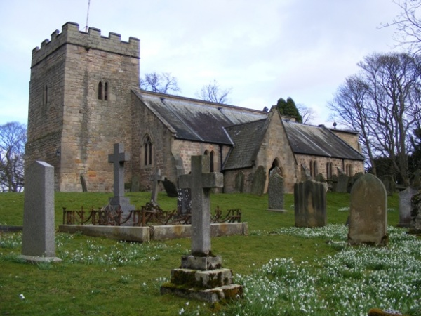 St Peters Church in Bywell