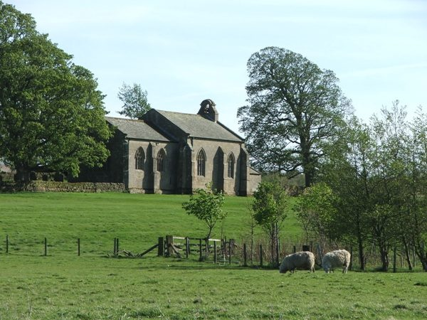 View of St Wilfrid's is near Kirkharle Lake and Courtyard