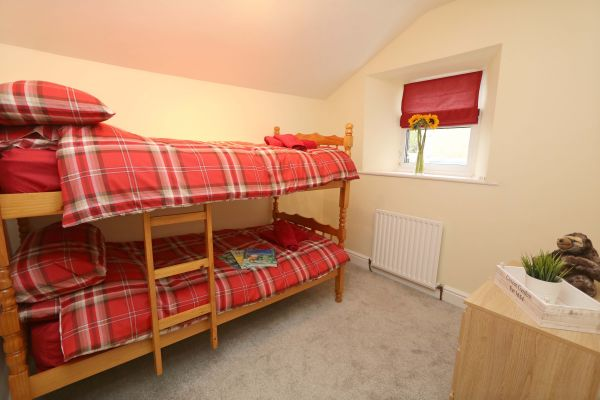 Star House, Rothbury - bunk bedroom