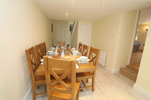 Star House, Rothbury - dining area