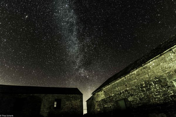Milky Way above Redesdale by Thea Schenk