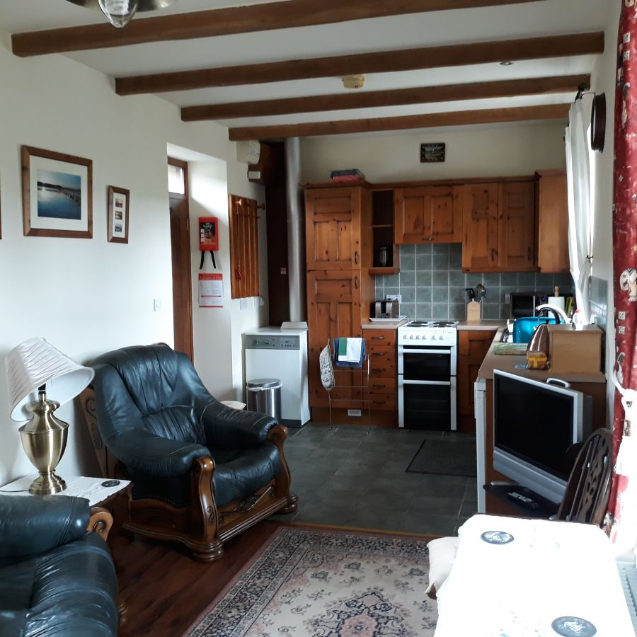 Kitchen at Station Cottage