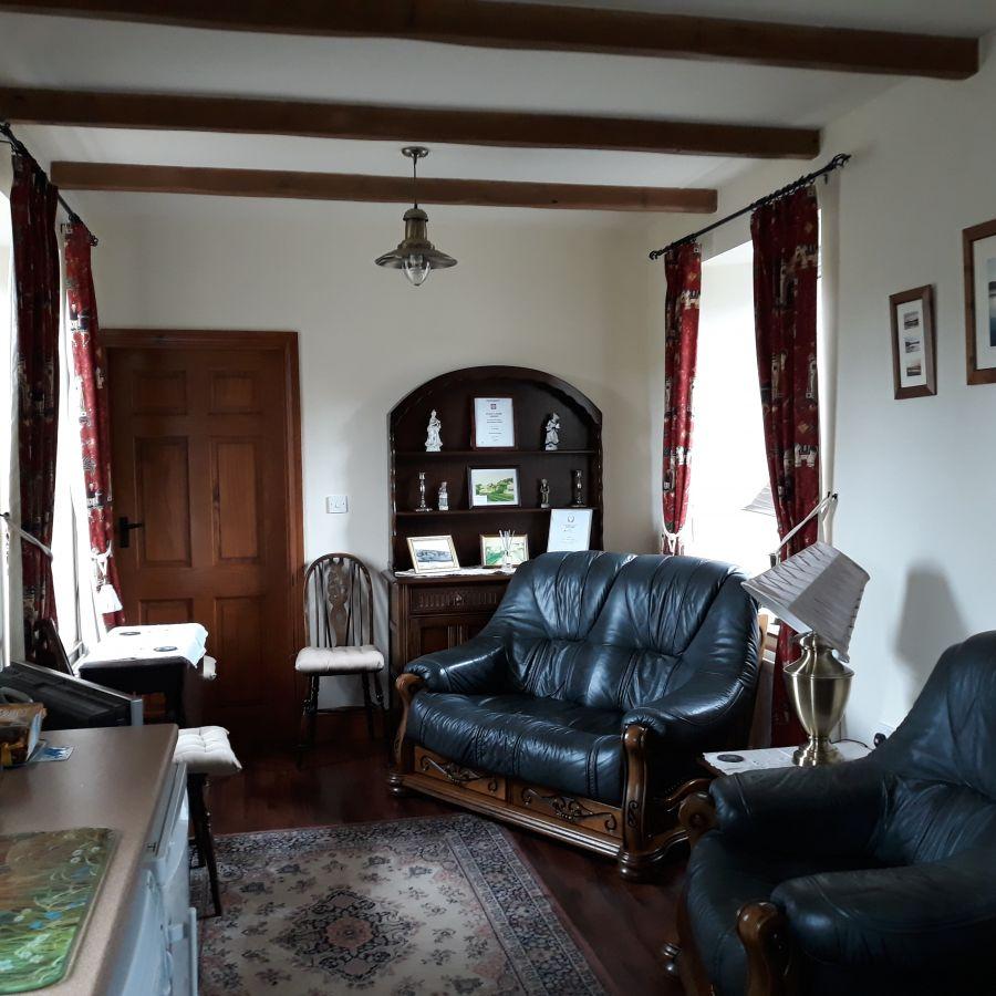 Living Room at Station Cottage