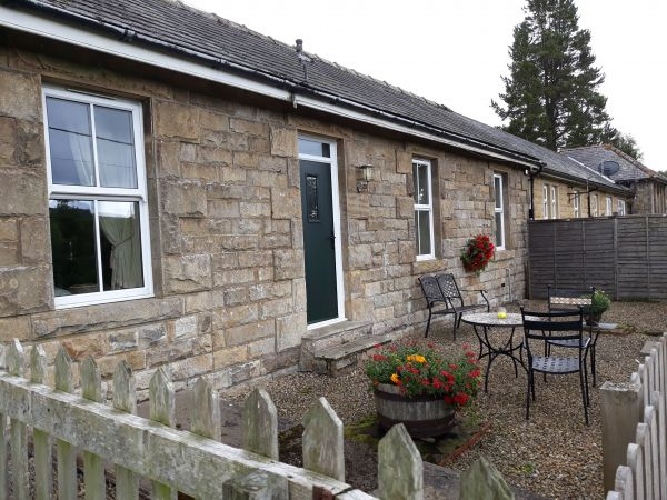 Station Cottage in Falstone is near Forestry Commission Centenary