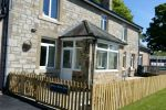 Station House Self Catering with fenced patio is near Haydon Bridge Tourist Information Point