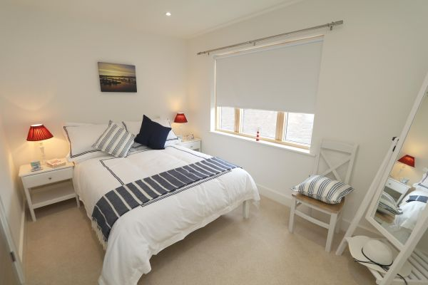 Still Waters,  Amble, double bedroom