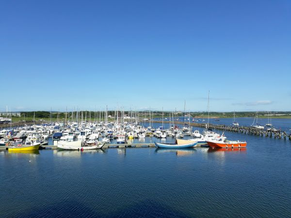 Still Waters,  Amble, view from balcony