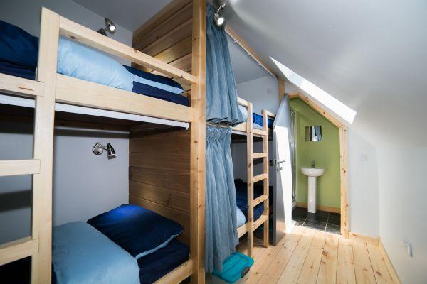 Bothy Bedroom and Bathroom