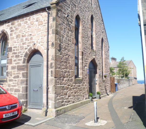 Templars historic exterior  is near Visit Berwick