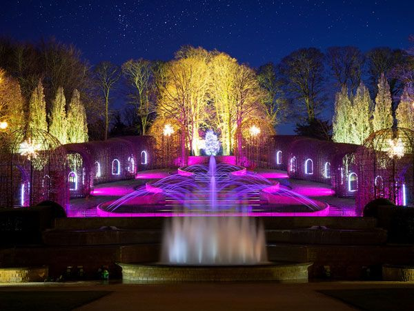 Weddings at The Alnwick Garden is near Northumberland Campervan Hire