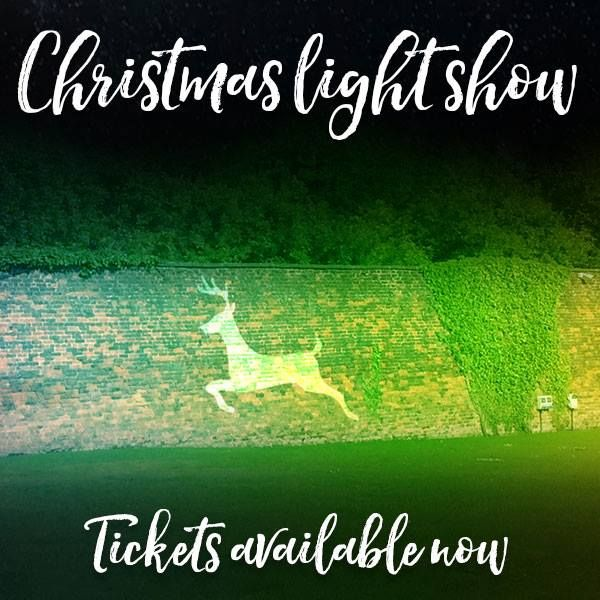 The Alnwick Garden Christmas Light show