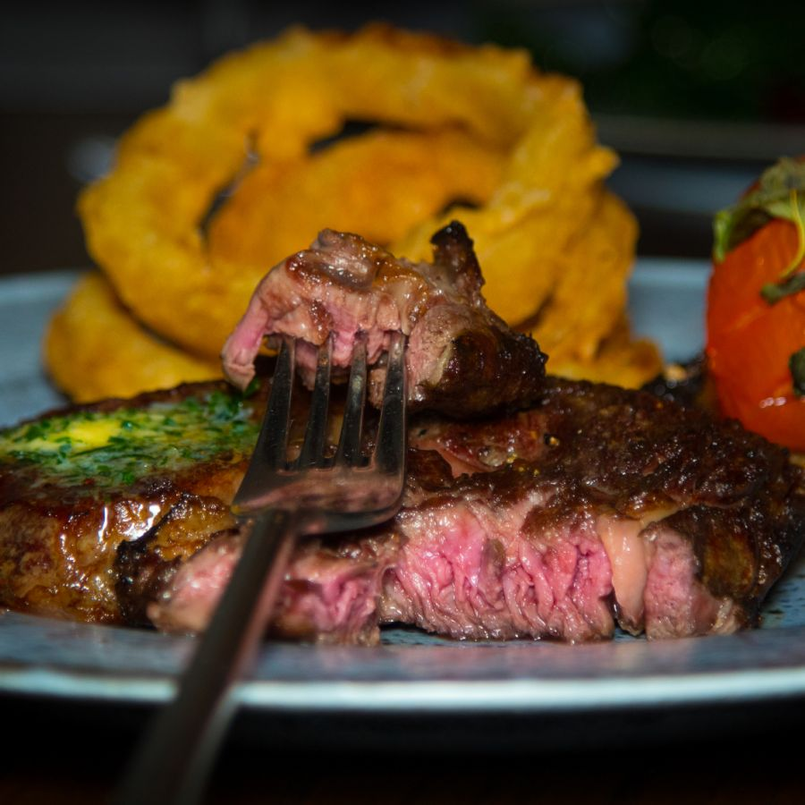 Char-Grilled 10oz British Rib Eye Steak