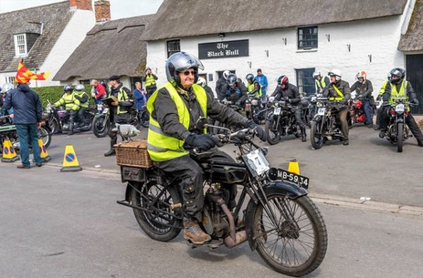 The Bamburgh Run - Vintage Motorcycles
