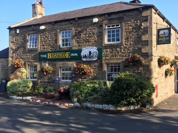The Boatside Inn is near Newbrough Bunkhouse