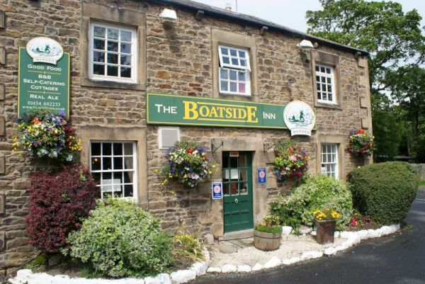 The Boatside Inn is near Corbridge Tourist Information Centre