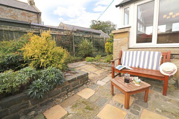 The Bothy, Longhoughton, patio garden
