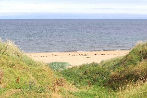 The Bothy, Longhoughton, sugar sands beach