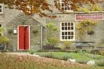 Red door is near Graham Smith Antiques