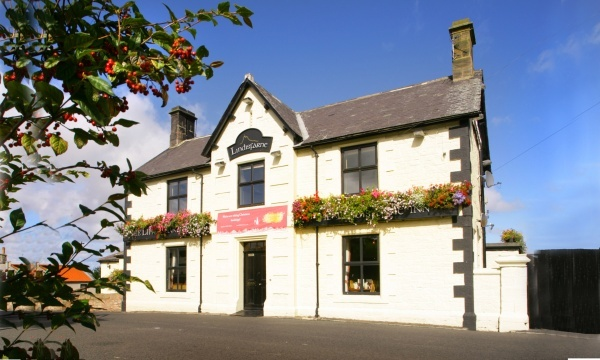 The Lindisfarne Inn is near St Cuthbert's Cave