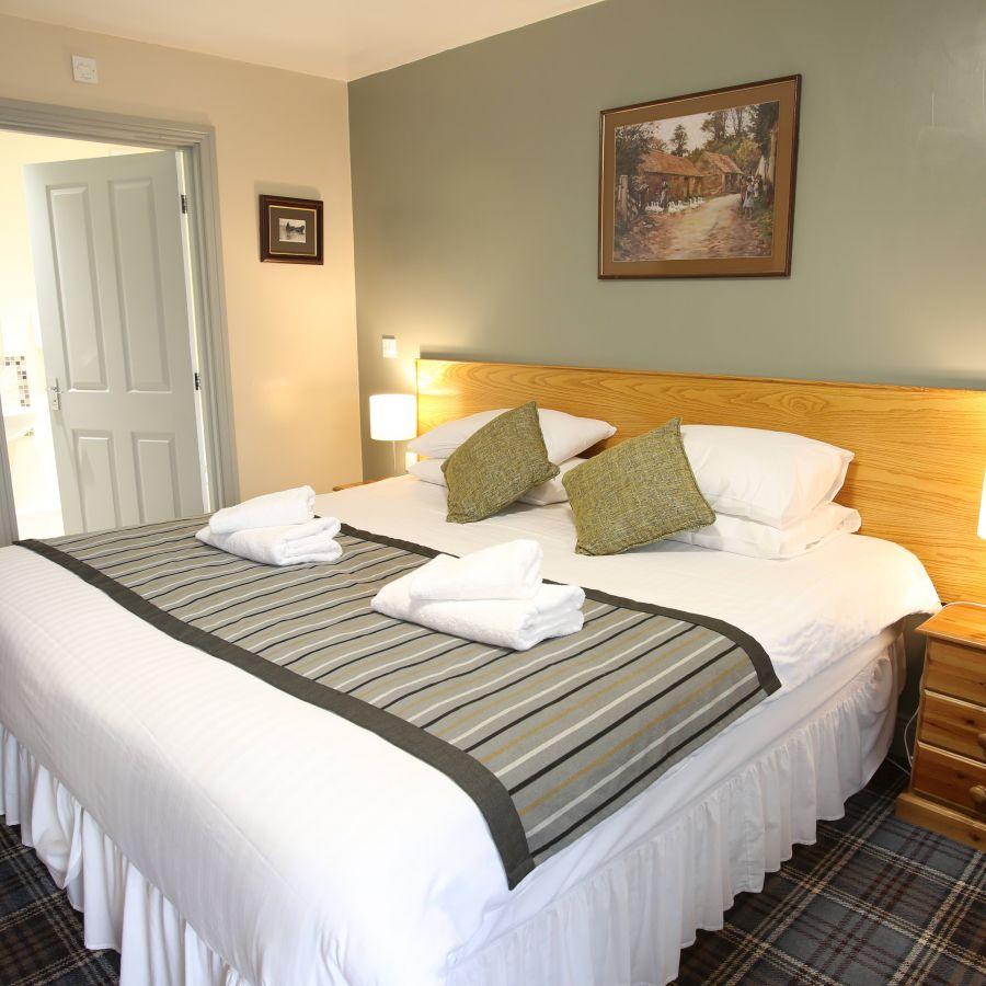Clean, modern bedrooms