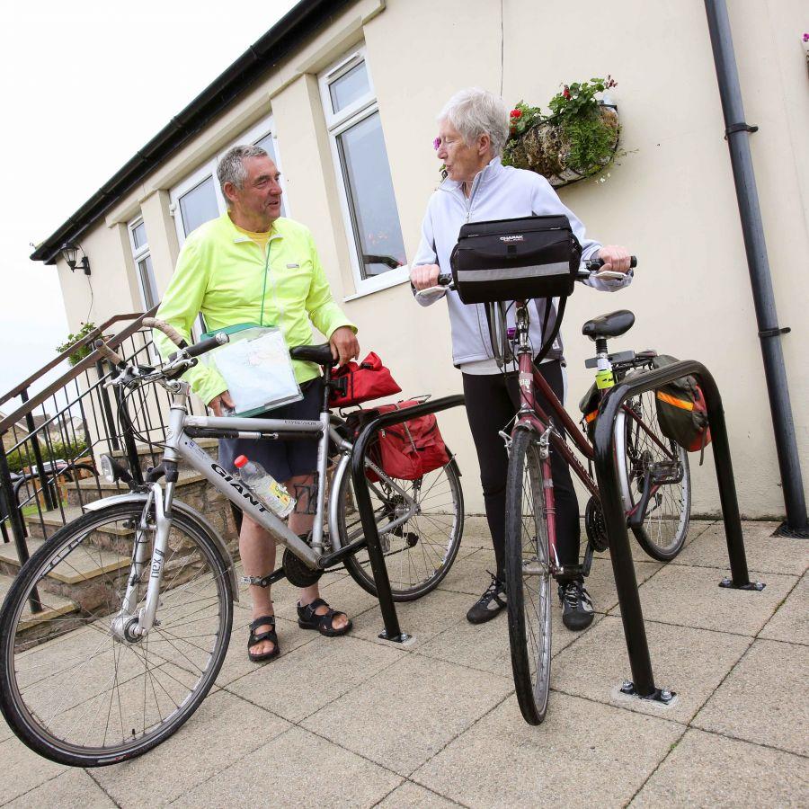 Great cycling facilities