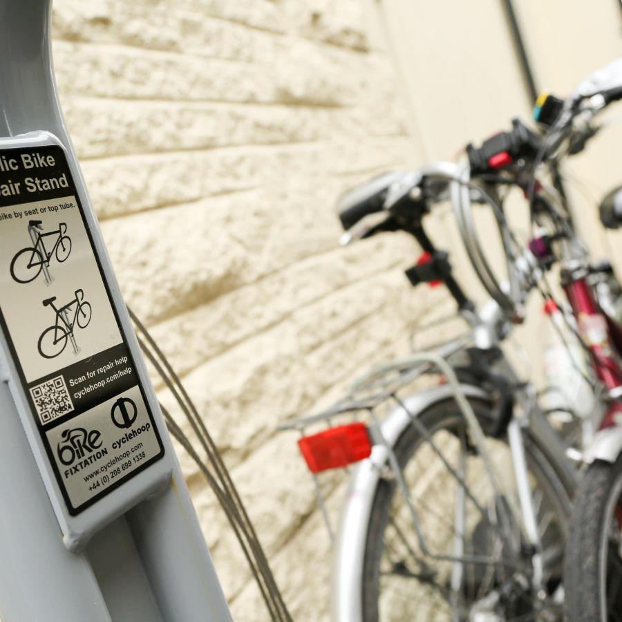 Super cyclist facilities