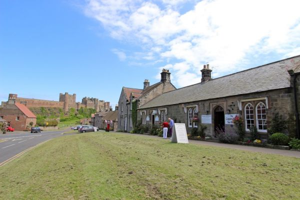 Bamburgh Village, great tearooms and award winning butchers