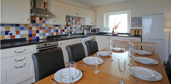 The Moorings spacious kitchen