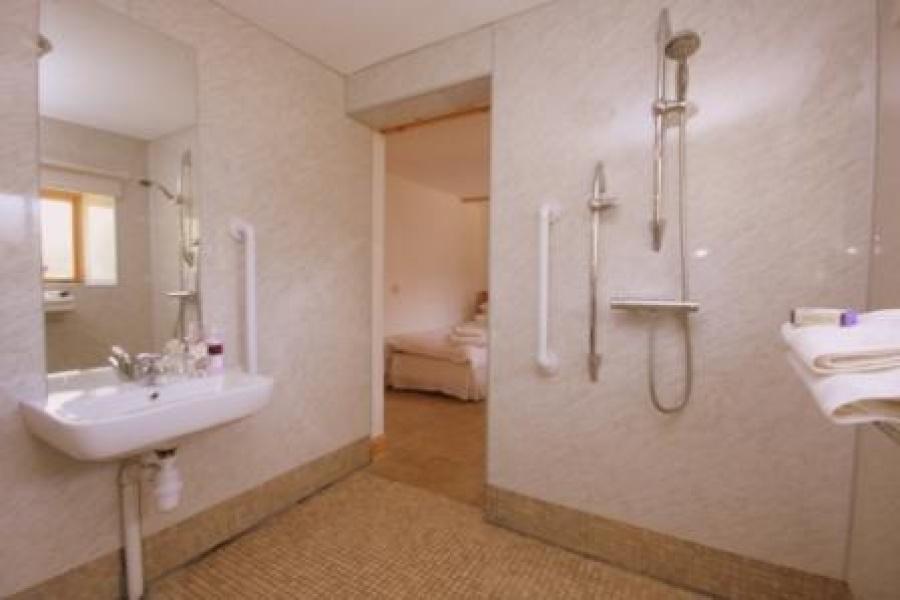 Open showerroom