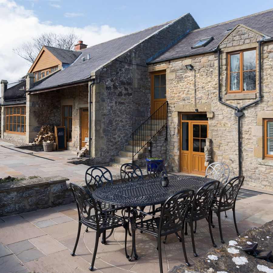 The Old Mill-Courtyard