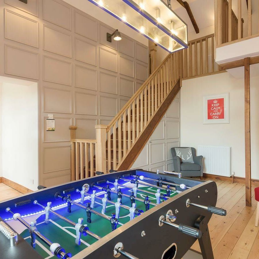 The Old Mill-Hall/Table football