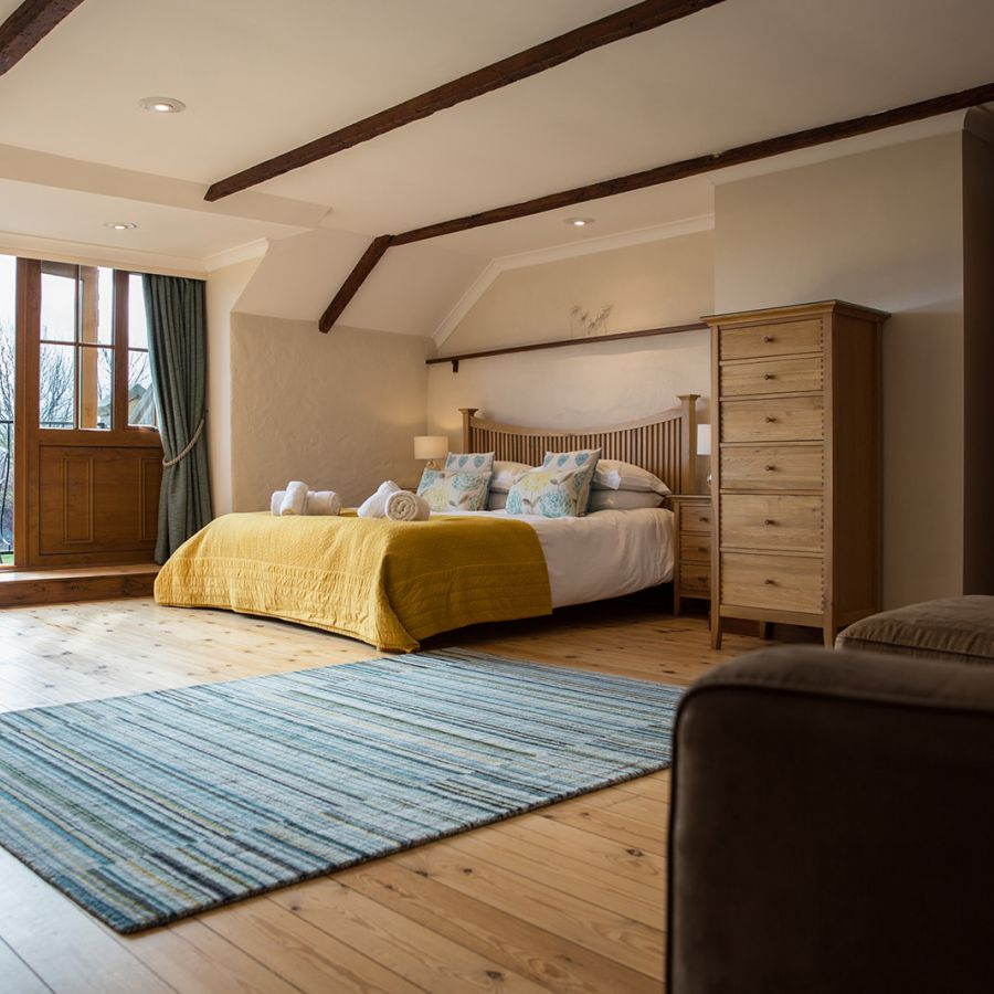 The Old Mill-Main bedroom