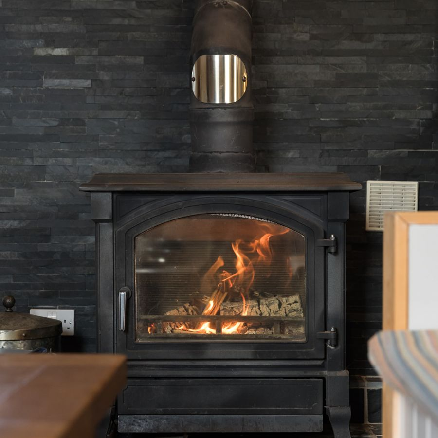 The Old Mill-Wood burner