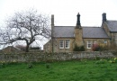 Outside The Old School in Howick is near Percy Tenantry Volunteers