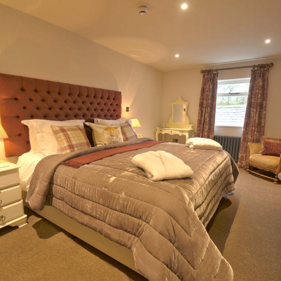 Hurle Stone - one of 5 beautiful bedrooms.