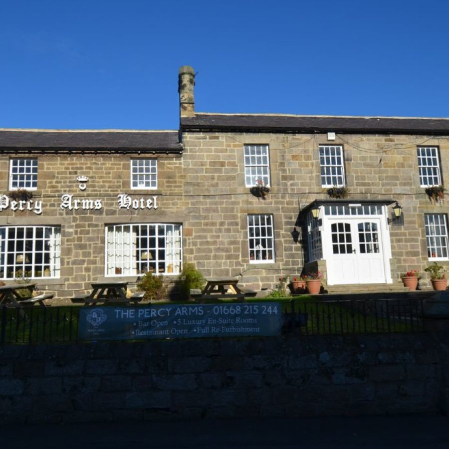 The Percy Arms, Chatton, Northumberland