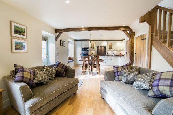 Garden Cottage Open Plan Lounge