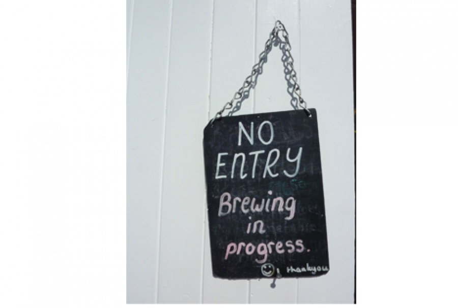 Micro brewery sign