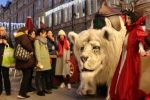 The Snow Lion at The Alnwick Garden