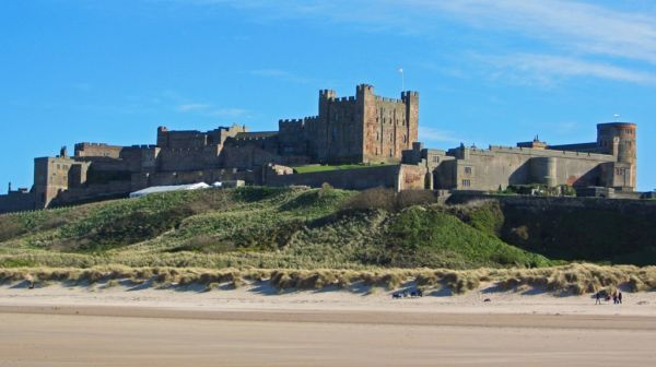 Thornbrae Lodge, Bamburgh Castle and beach