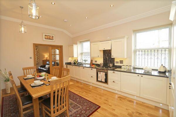 Thornbrae Lodge, kitchen area