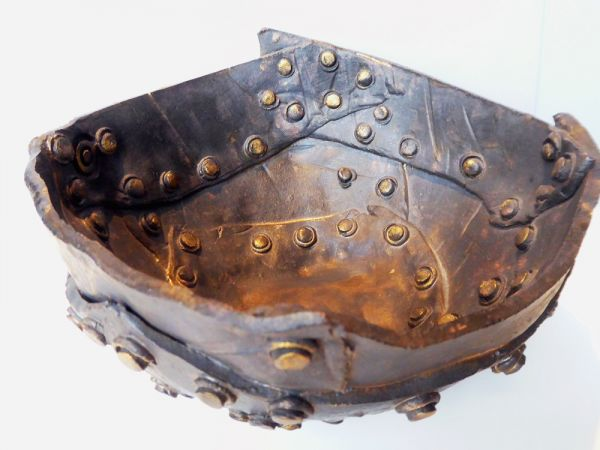 Rivet Bowl by Carolyn Corfield