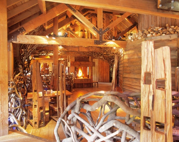 Treehouse interior