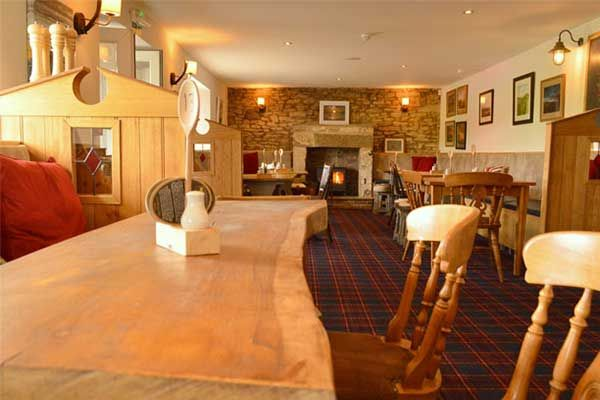 Restaurant at Twice Brewed inn is near Hadrian's Wall and Housesteads Fort - Visitor Centre