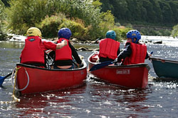 Learning to sail at Tyne Riverside Country Park